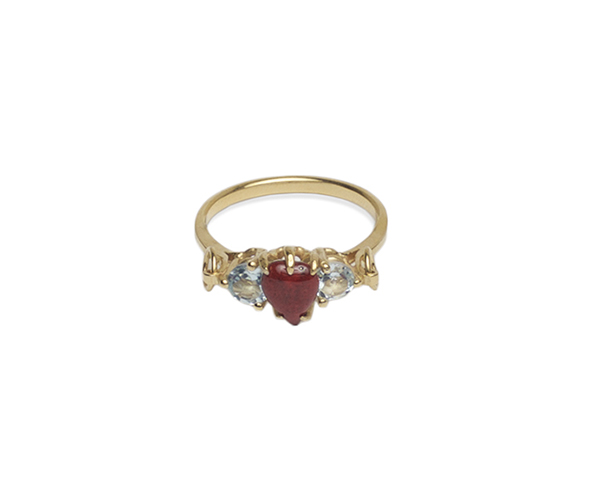 Sacred heart engagement ring