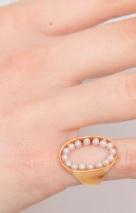 Ring of pearls