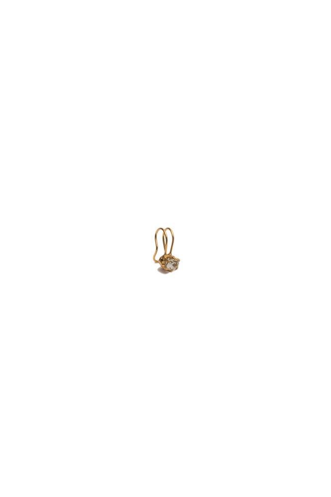 Ear cuff doble de oro
