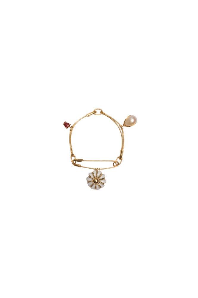 Pearl bar earrings