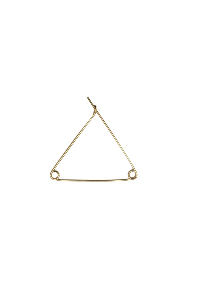 Safety pin hoop L