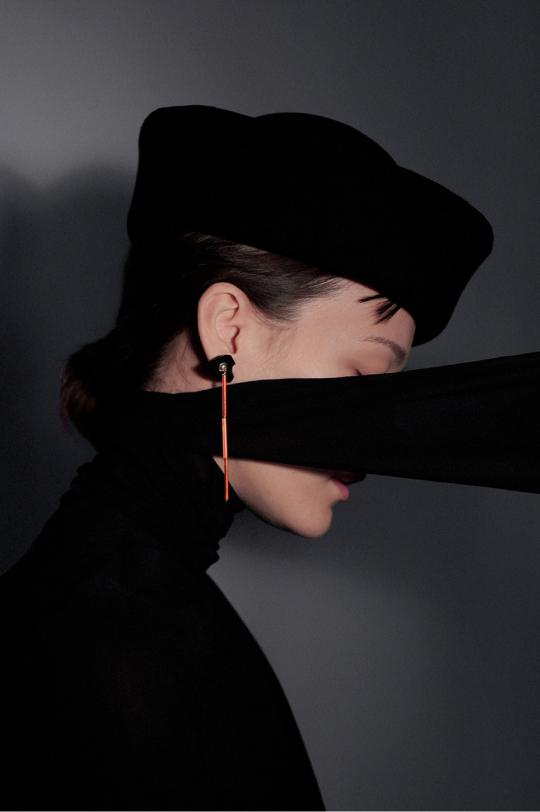 Original long earring