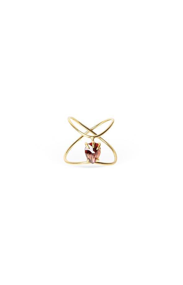 Sacred heart infinity ring