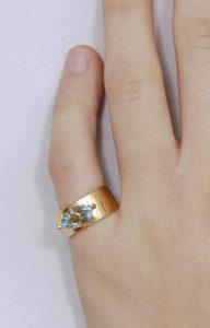 Santa Lucia blue ring