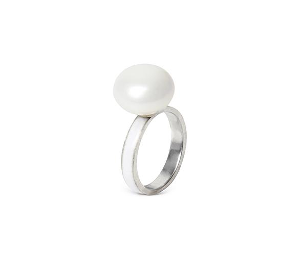White Moon ring