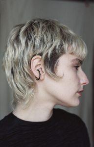 Black Ear Cuff