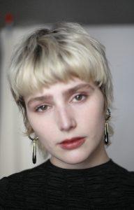 Mourning Earrings