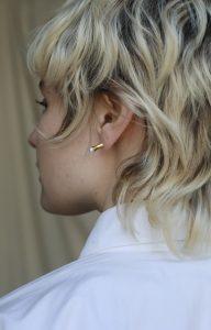 Pearl Punk earring