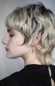 Round Safety Pin Earrings