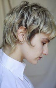 White Ear Cuff
