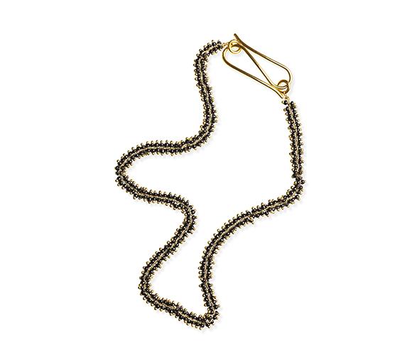 Black Chain Necklace